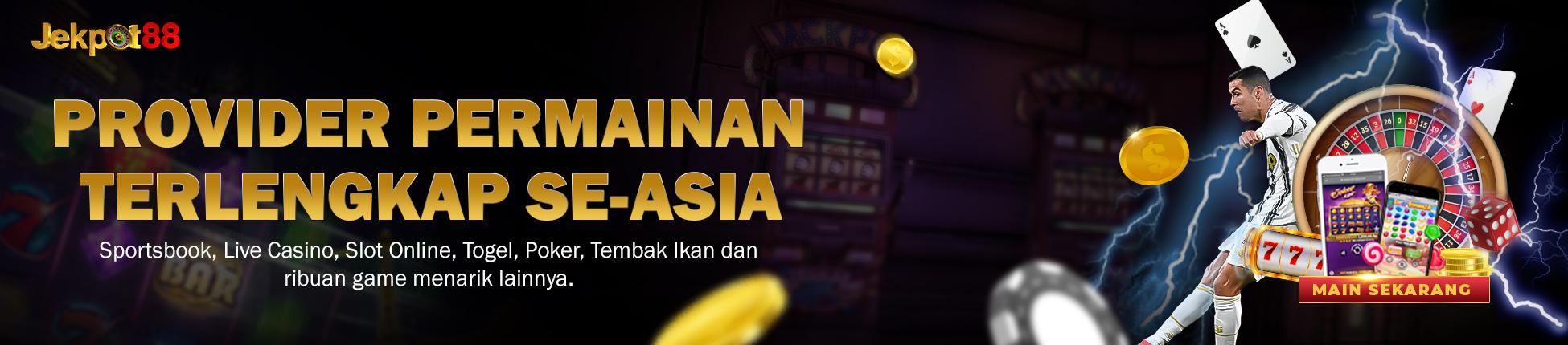 Provider Permainan Terlengkap di Asia Jekpot88