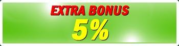 Bonus Extra 5%