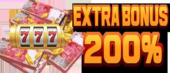 EXTRA BONUS NEW MEMBER SLOTS 200%