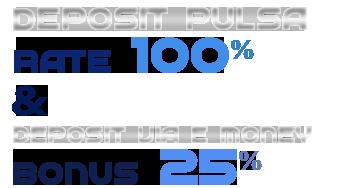 DEPOSIT PULSA TANPA POTONGAN & E-MONEY