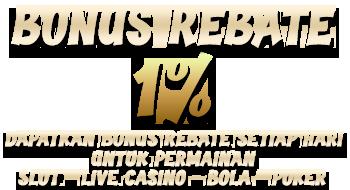 Bonus Rebate Harian