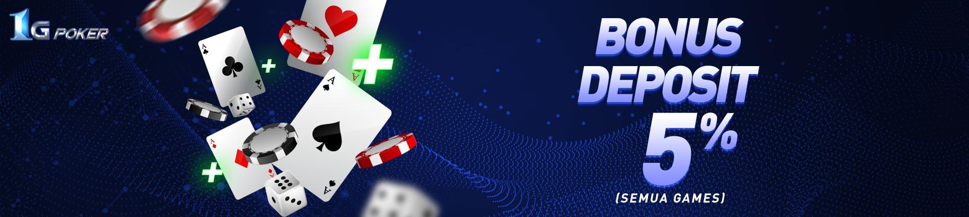 1G Poker promo